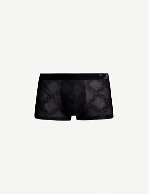 HOM Delicat slim-fit stretch-jersey trunks