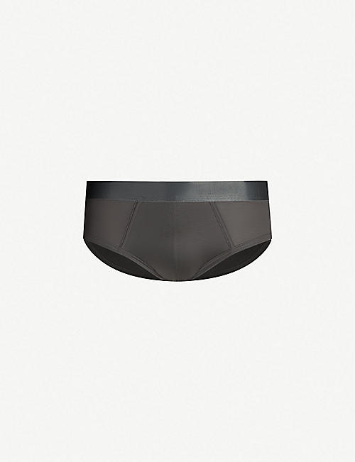 CDLP Logo slim-fit stretch-jersey briefs