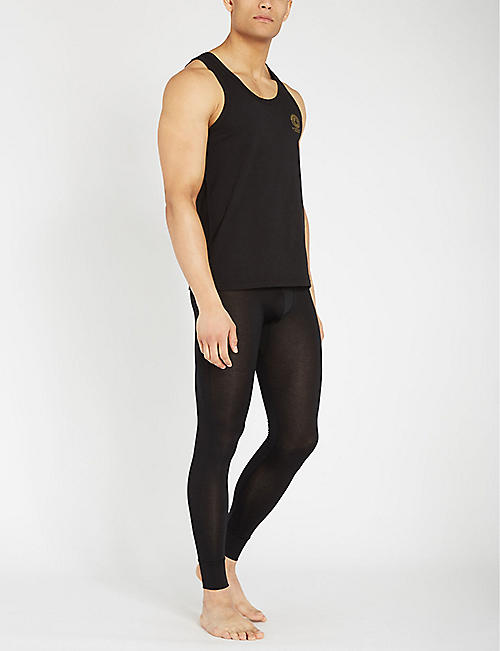 CDLP Slim-fit stretch-lyocell long Johns