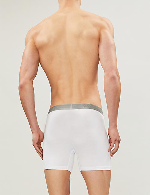 SAXX Slim-fit stretch-jersey boxer briefs