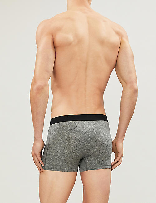 SAXX Slim-fit stretch-jersey trunks