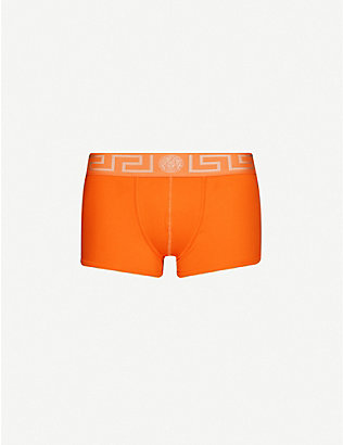 VERSACE: Iconic stretch-cotton trunks