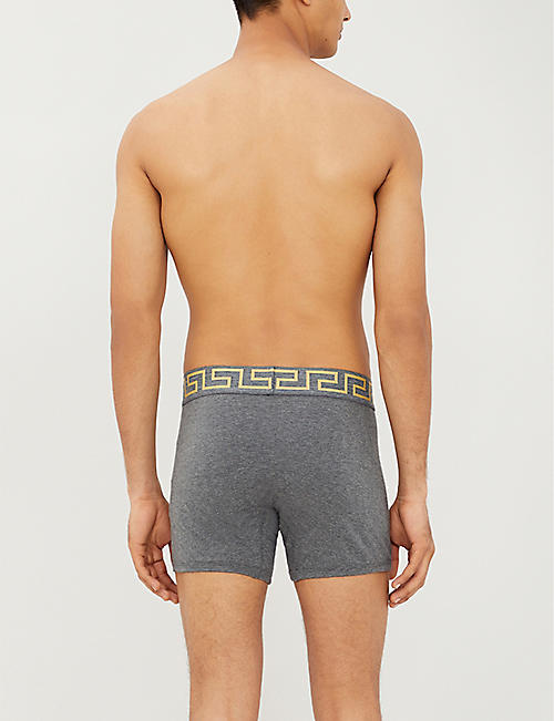 e6654fd5f5 VERSACE Iconic stretch-cotton trunks