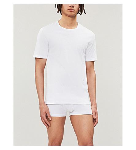 51bd4cde BOSS - Crewneck cotton-jersey T-shirts pack of three | Selfridges.com