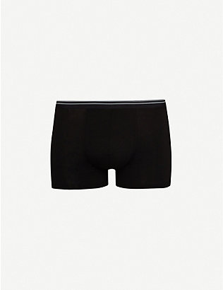 ZIMMERLI: Pure Comfort classic-fit stretch-cotton trunks