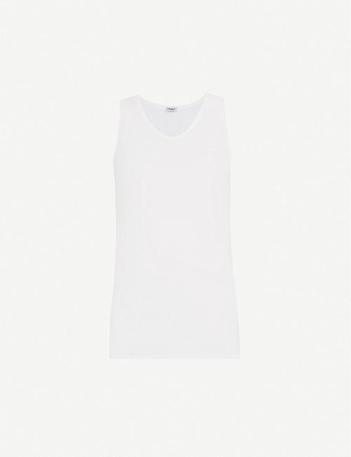 ZIMMERLI: 252 Royal Classic cotton vest