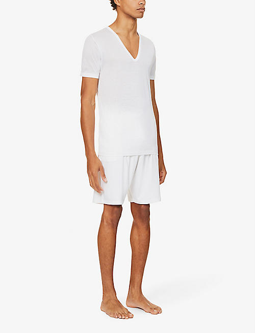 ZIMMERLI Deep v-neck t-shirt