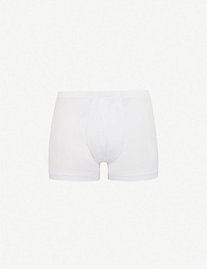 ZIMMERLI Slim-fit stretch-cotton trunks