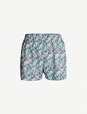 SUNSPEL Liberty-print regular-fit cotton boxers