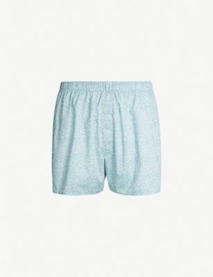 SUNSPEL Liberty-print relaxed-fit cotton boxers