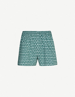 SUNSPEL Winter Tree regular-fit cotton boxers