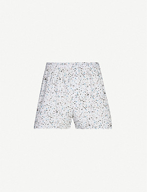 SUNSPEL Graphic-print regular-fit cotton boxers