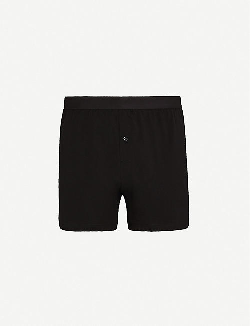 SUNSPEL Elasticated slim-fit cotton boxers
