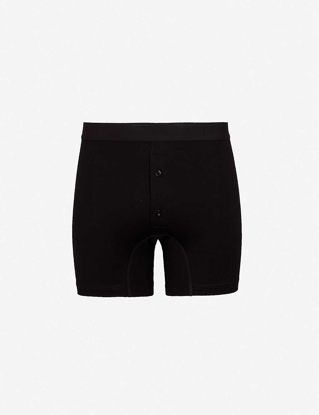 aac3bfad140a SUNSPEL - Superfine slim-fit Egyptian cotton boxer shorts ...