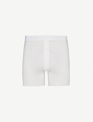 SUNSPEL Two–button boxer shorts