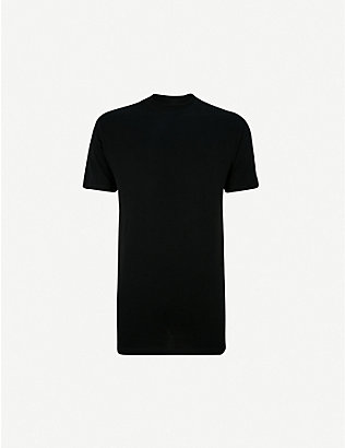 HOM: Crew neck cotton T-shirt
