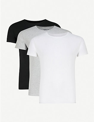 TOMMY HILFIGER: Stretch-cotton T-shirt set