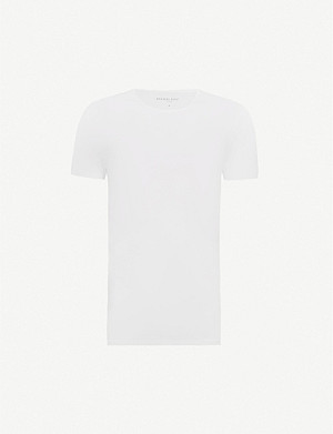 DEREK ROSE Crew-neck modal t-shirt