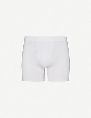 DEREK ROSE: Jack slim-fit pima-cotton trunks