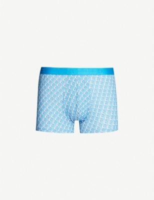 DEREK ROSE Pelican print stretch-cotton boxer briefs