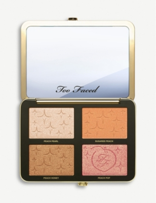 Sugar Peach Wet And Dry Face And Eye Palette 19.28g by Too Faced