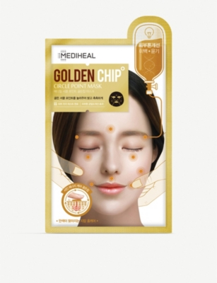 MEDIHEAL Golden Chip Circle Point Mask