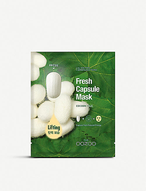 THE OOZOO: Fresh Capsule Cocoon Silk Mask