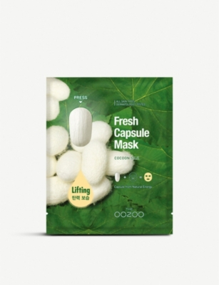 THE OOZOO Fresh Capsule Cocoon Silk Mask