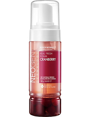 NEOGEN: Dermalogy real fresh cranberry foam cleanser 160g