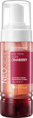 NEOGEN Dermalogy real fresh cranberry foam cleanser 160g