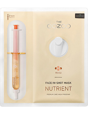 THE OOZOO Face in-shot nutrient face mask
