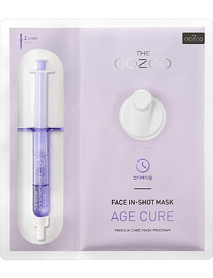 THE OOZOO Face in-shot mask age cure face mask