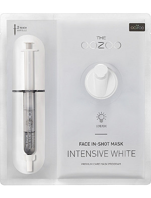 THE OOZOO Face in-shot mask intensive white face mask