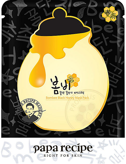 PAPA RECIPE: Bombee black honey face mask