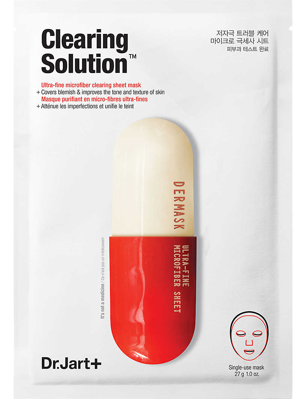 DR JART+: Dermask Clearing Solution Ultra-Fine Microfiber Sheet Mask