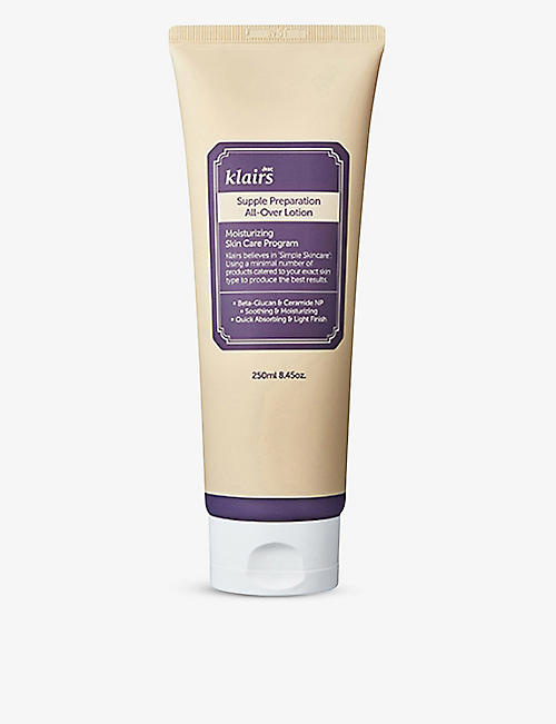KLAIRS: Supple Preparation all-over lotion 250ml