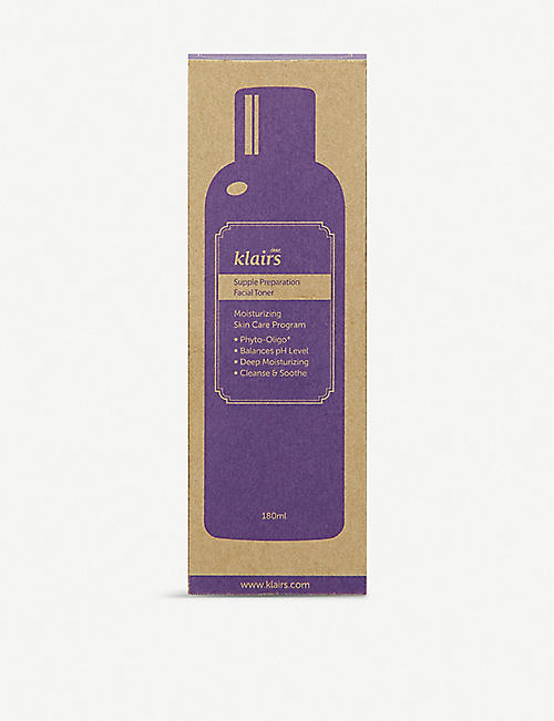 KLAIRS Klairs supple preparation toner 180ml