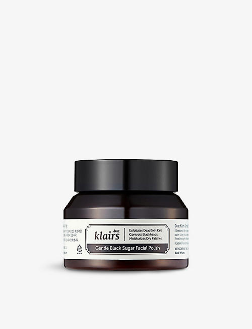 KLAIRS: Gentle Black Sugar Facial polish 110g