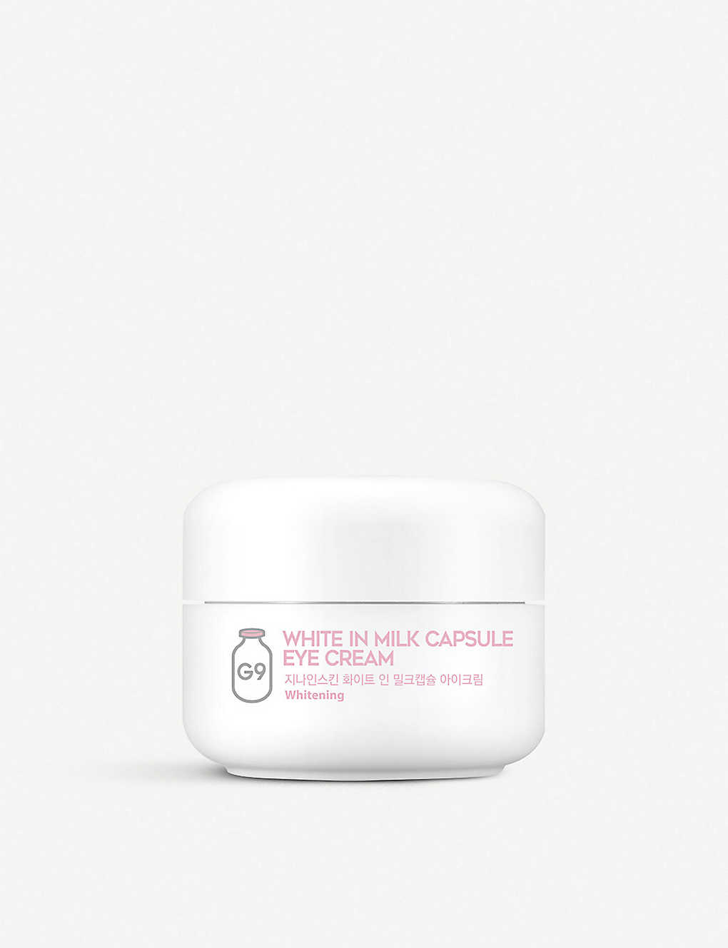 G9: White In Milk capsule eye cream