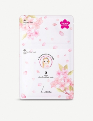 ABYBOM 2 Step Ultra Floral Leaf Mask