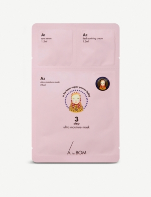 ABYBOM Ultra Moisture 3-part face mask