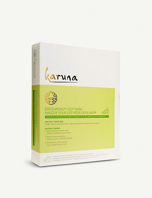 KARUNA Exfoliating+ Foot Mask