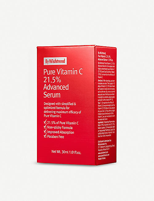 BY WISHTREND Pure Vitamin 21.5% Advanced Serum 30ml