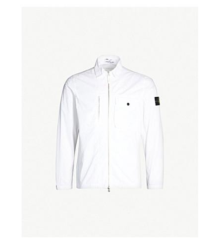 11bf1242e STONE ISLAND - Brushed cotton lightweight jacket   Selfridges.com