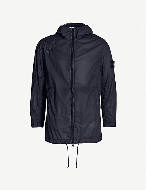 STONE ISLAND Lamy Velour shell jacket 021b06c6bdb7