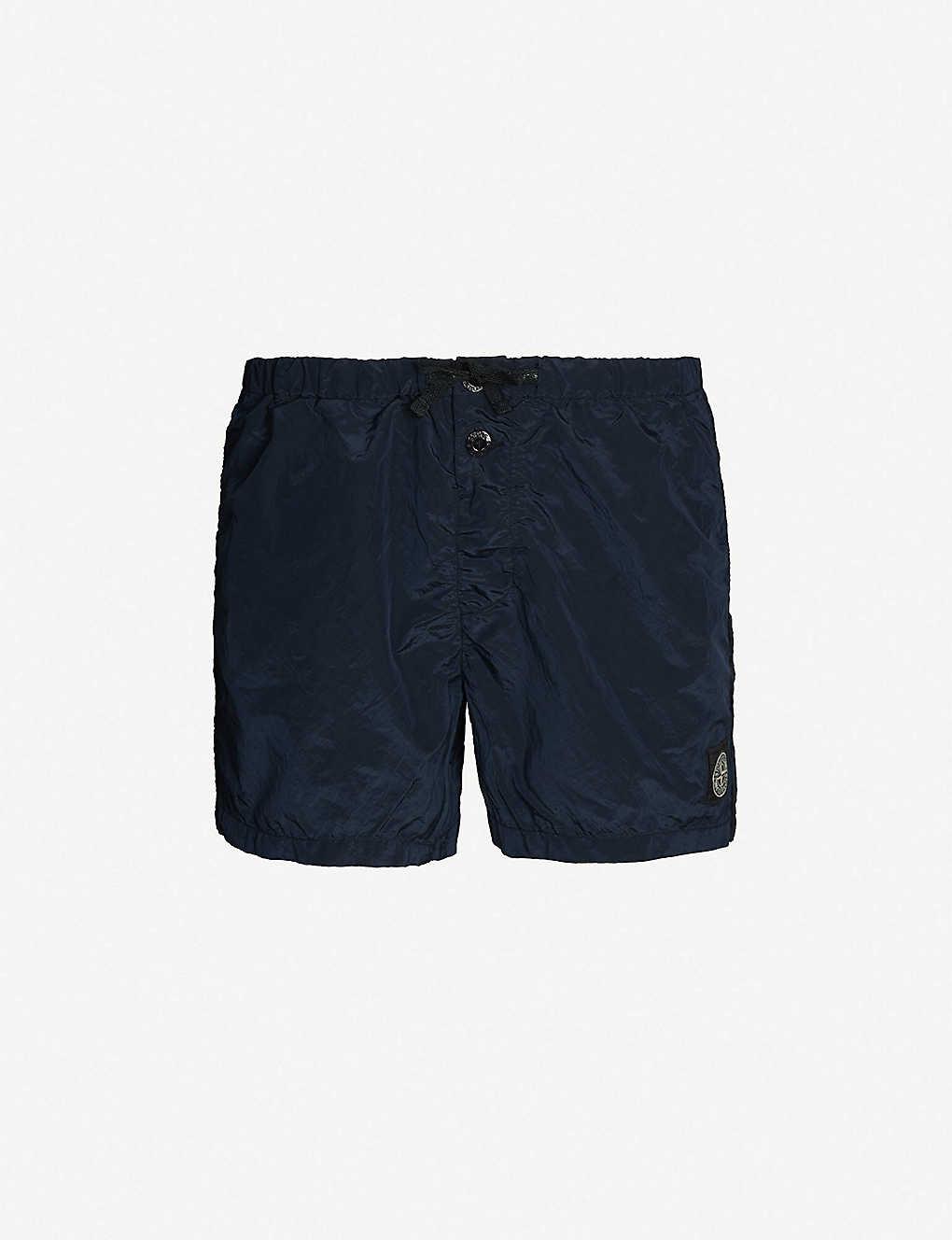 5f60fe8982 STONE ISLAND - Drawstring-waist shell swim shorts | Selfridges.com