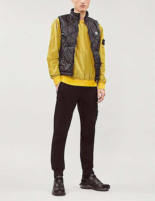 8f22b9a28d779 STONE ISLAND Quilted shell gilet