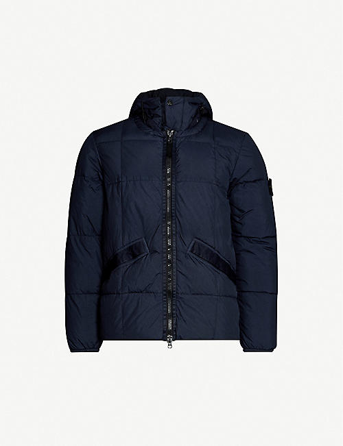 154f80dbf STONE ISLAND Zipped quilted-shell puffer jacket