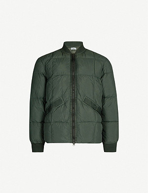 STONE ISLAND Crinkle Reps shell-down jacket