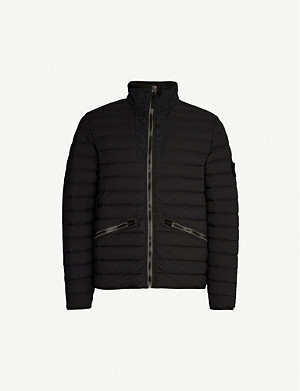STONE ISLAND High-neck shell-down jacket